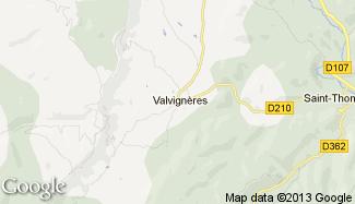 Plan de Valvignères