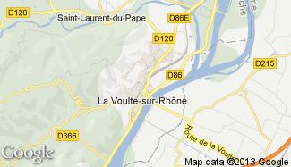 Plan de La Voulte-sur-Rhône