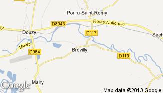 Plan de Brévilly