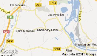 Plan de Chalandry-Elaire