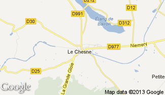 Plan de Le Chesne