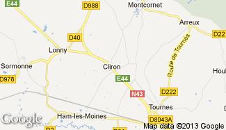 Plan de Cliron