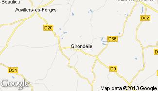 Plan de Girondelle