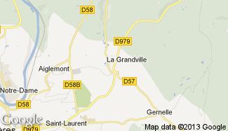 Plan de La Grandville
