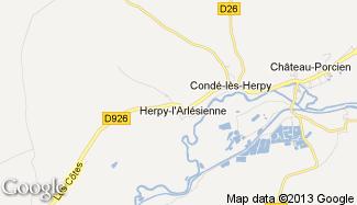 Plan de Herpy-l'Arlésienne