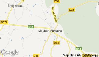 Plan de Maubert-Fontaine