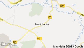 Plan de Montcheutin