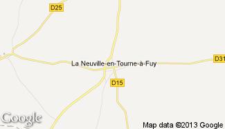 Plan de La Neuville-en-Tourne-à-Fuy