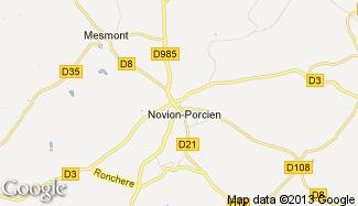 Plan de Novion-Porcien