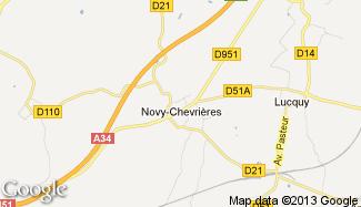 Plan de Novy-Chevrières