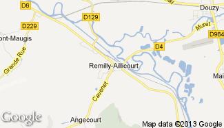 Plan de Remilly-Aillicourt