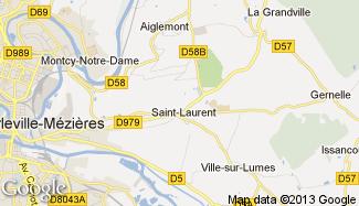 Plan de Saint-Laurent