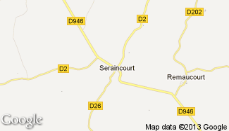 Plan de Seraincourt