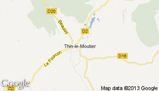 Plan de Thin-le-Moutier