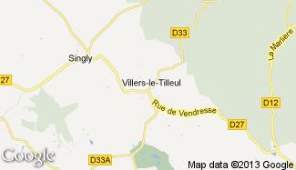 Plan de Villers-le-Tilleul