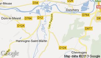 Plan de Villers-sur-Bar