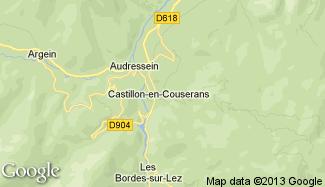 Plan de Castillon-en-Couserans