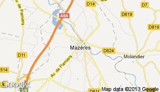 Plan de Mazères