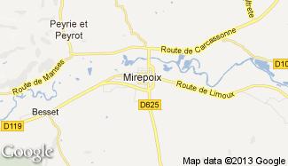 Plan de Mirepoix