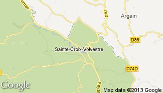 Plan de Sainte-Croix-Volvestre