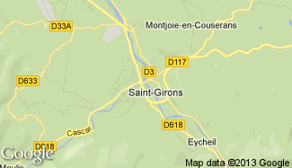 Plan de Saint-Girons