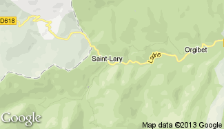 Plan de Saint-Lary