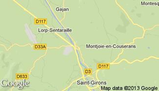 Plan de Saint-Lizier