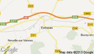 Plan de Estissac