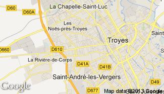 Plan de Sainte-Savine