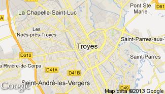 Plan de Troyes