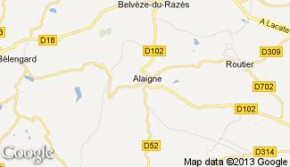 Plan de Alaigne
