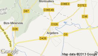 Plan de Argeliers