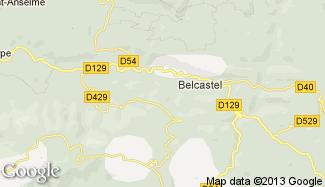 Plan de Belcastel-et-Buc