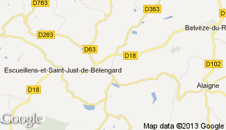 Plan de Bellegarde-du-Razès