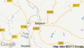 Plan de Belpech