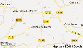 Plan de Belvèze-du-Razès