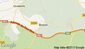 Plan de Bizanet