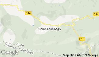 Plan de Camps-sur-l'Agly