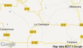 Plan de La Cassaigne