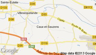 Plan de Caux-et-Sauzens