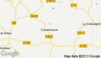 Plan de Cazalrenoux
