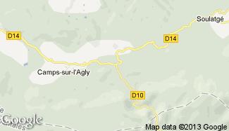 Plan de Cubières-sur-Cinoble