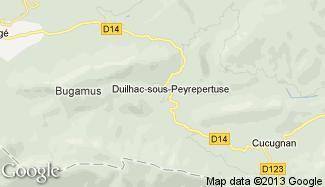 Plan de Duilhac-sous-Peyrepertuse