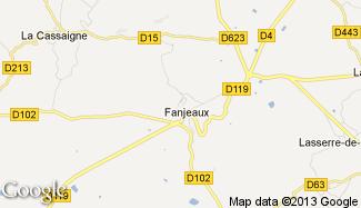 Plan de Fanjeaux
