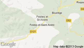 Plan de Festes-et-Saint-André