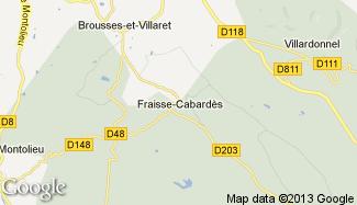 Plan de Fraisse-Cabardès