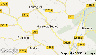 Plan de Gaja-et-Villedieu