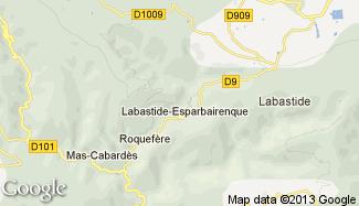 Plan de Labastide-Esparbairenque