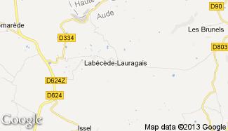 Plan de Labécède-Lauragais