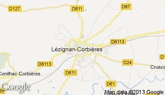 Plan de Lézignan-Corbières